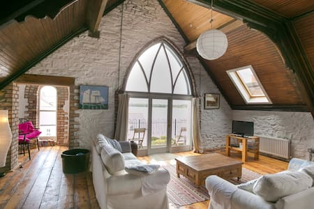Spacious LOFT, lough views,  WiFi - Portaferry