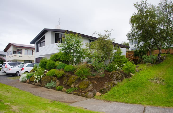 A beautiful house with a superb Reykjavik view