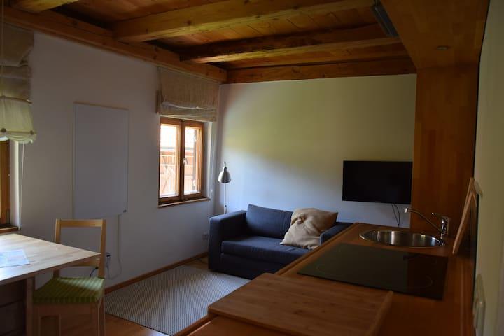 Gemütliches Appartement auf dem Zimmermeisterhof