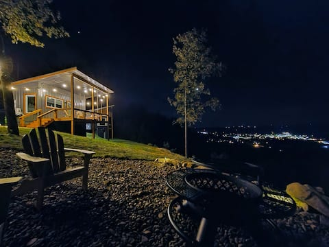 On the Rocks Cargo Container Tiny Home WHAT A VIEW