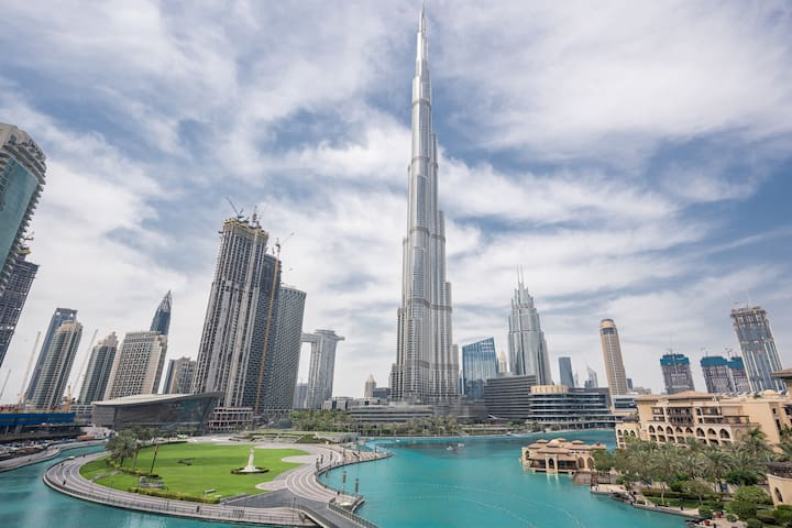 Luxury 2bedroom Burj Khalifa & Dubai fountain view