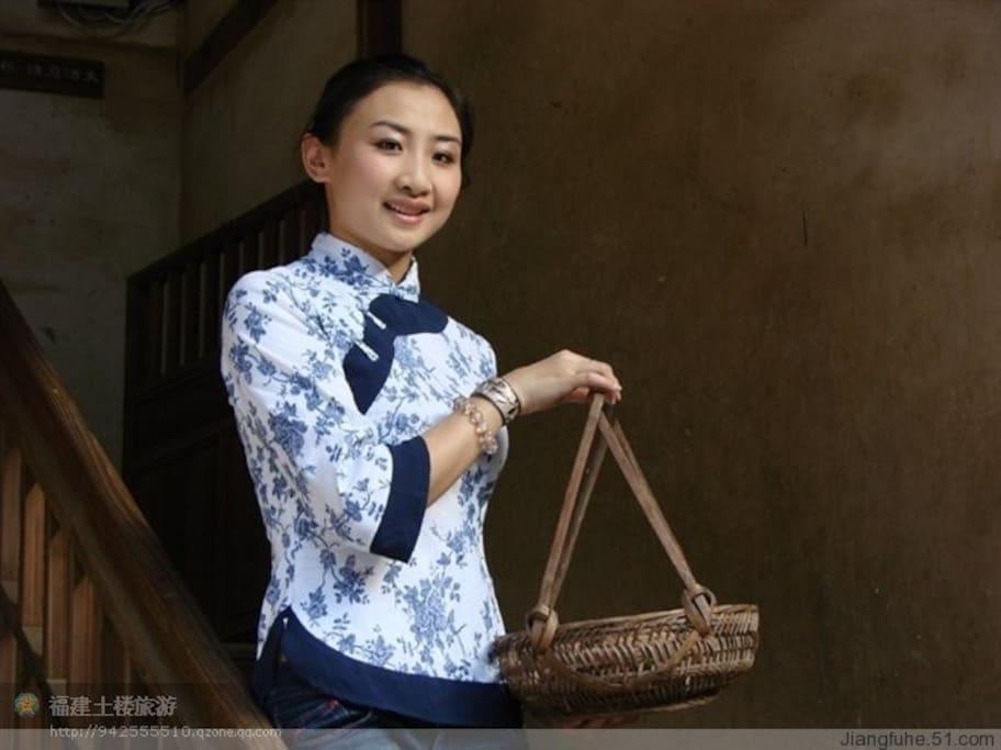 奥运冠军何雯娜形象代表