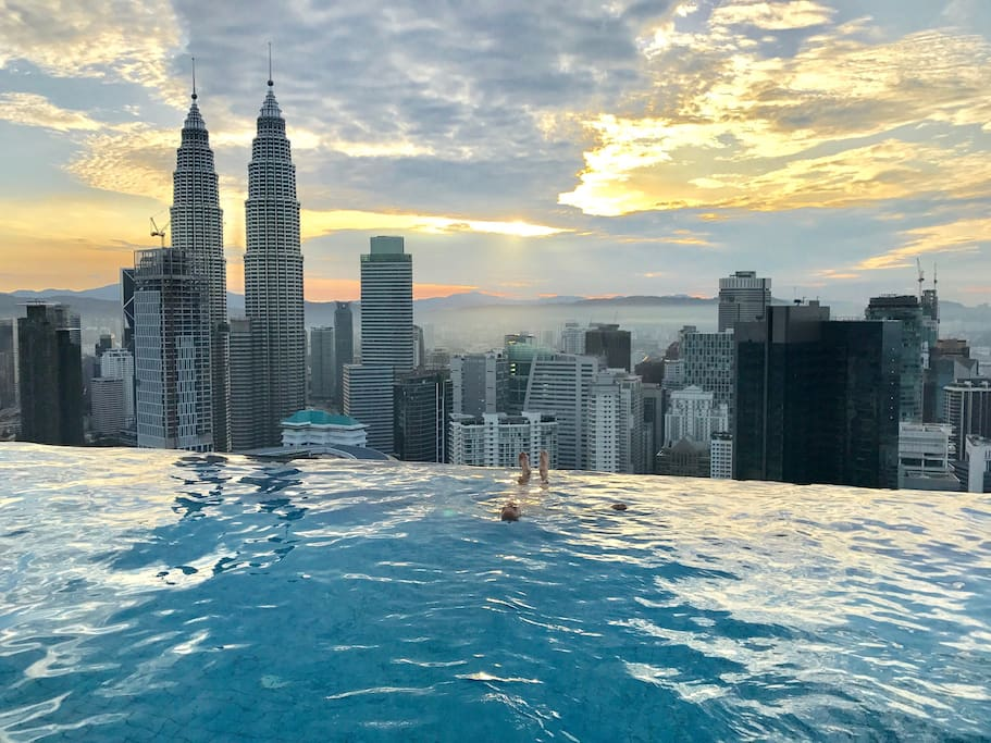 The Platinum Infinity Pool Relaxing Master Room Apartments For Rent In Kuala Lumpur Wilayah