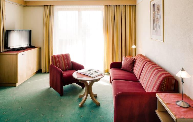 Serfaus, Apartment 2 Personen ca. 50m², Balkon