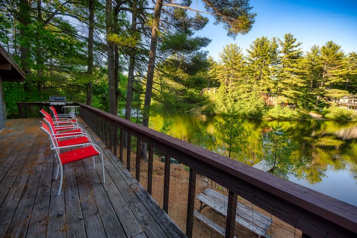 WATERFRONT House - North Conway Area - Sandy Beach