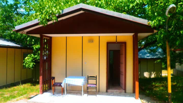 2 persons Bungalow in lovely and familial area