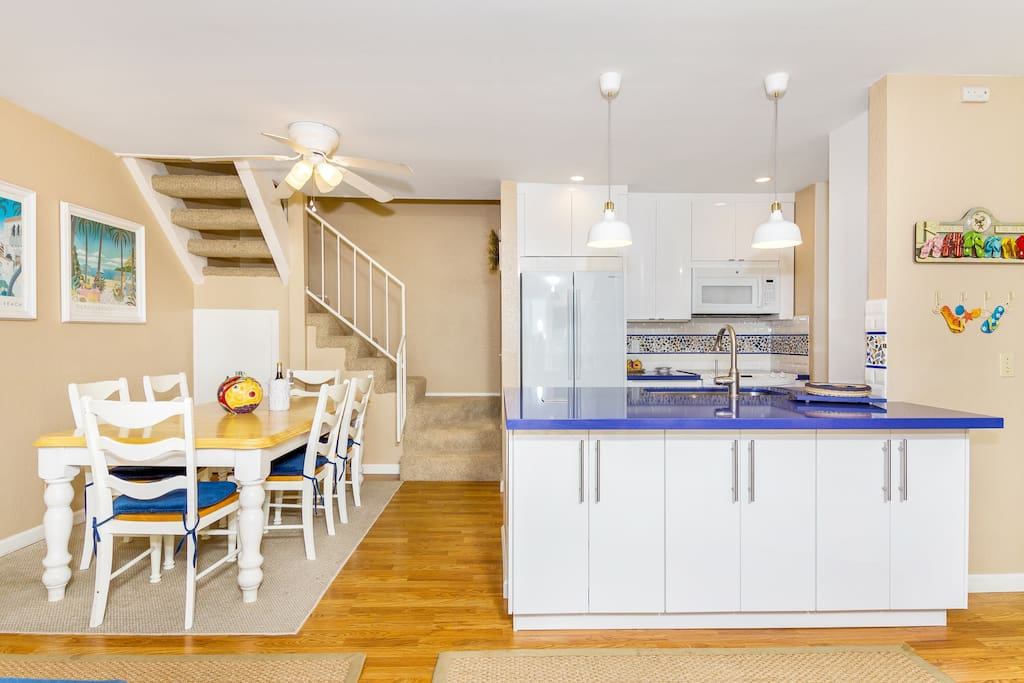Incredibly remodeled kitchen!