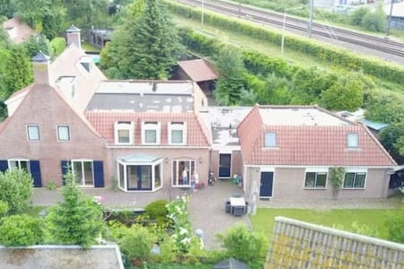 Room in a traditional Dutch house (Single)+bike