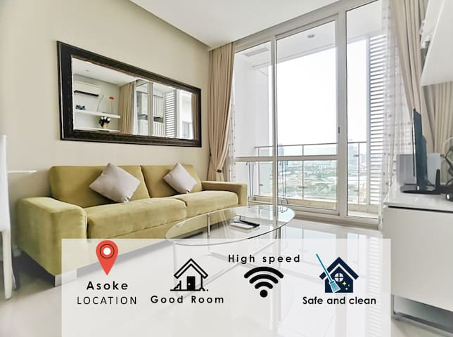 THE LONDON PASTEL LUXURY 1BR /MRT/POOL/NIGHT LIFE