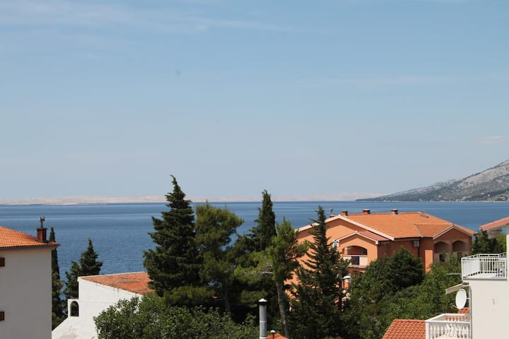One bedroom apartment near beach Starigrad, Paklenica (A-6591-d)
