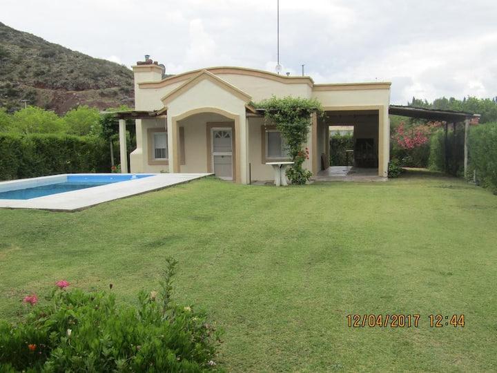 Casa Sol y Paz Valle Grande San rafael