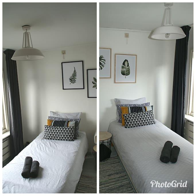 2 sleeping rooms