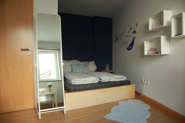 Bright room - Central in the city + Bath & Kitchen - Dresden