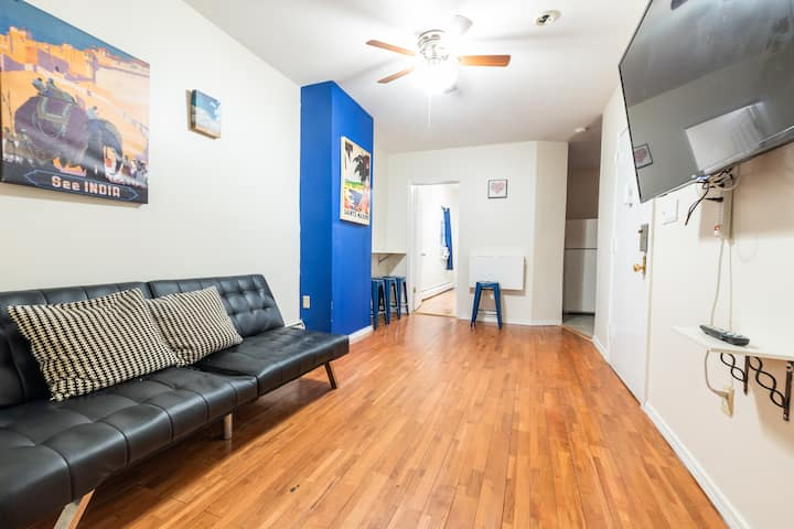 2 Bed Private Apt by Yankee Stadium near Trains