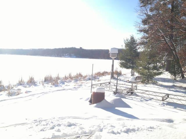 Quiet sanctuary on 2 acres.