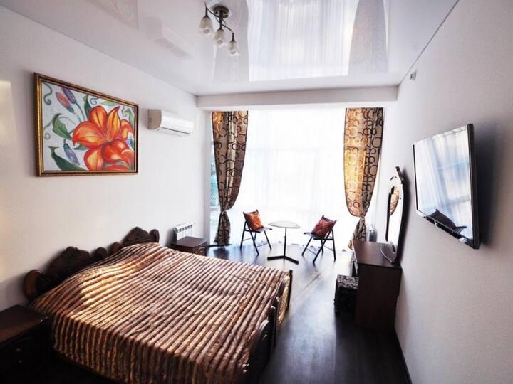 With shared bathroom. Sochi vip house
