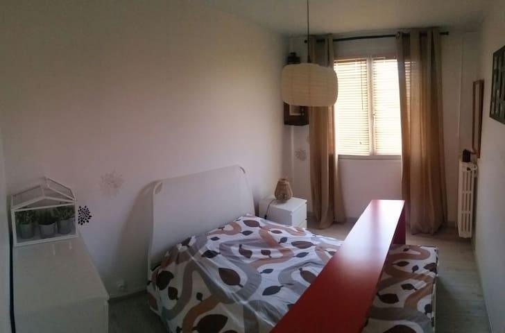 Chambre 2 dans appartement spacieux - Béthune - Apartment