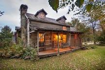 Grandpa's Cabin - 1837 restored log cabin