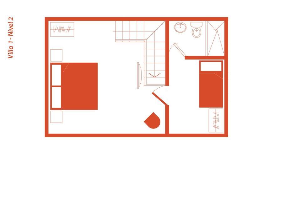 Layout 2nd floor / VILLA 01