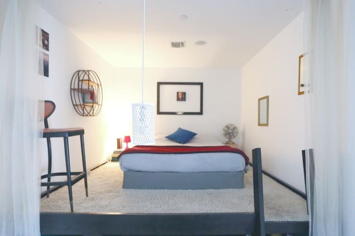 lofted private room