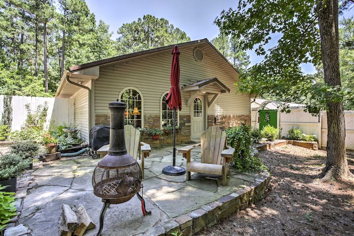 Secluded Broken Bow Studio w/Patio-Hike, Boat&Fish
