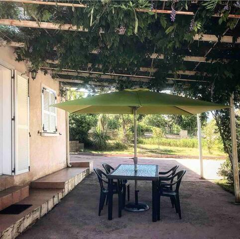 Logement entier type T2 Bas de Villa Guest House