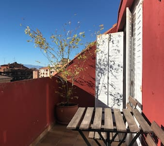 Enjoy Ávila city, hosted in a charming penthouse.