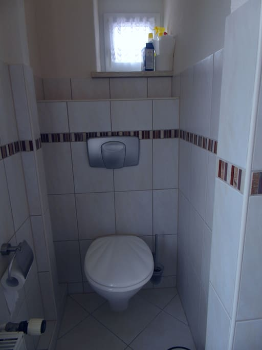 eigene Toilette