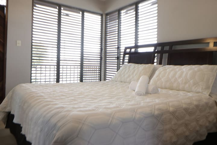 Luxury House Private King Bedroom (AC-WIFI-POOL)