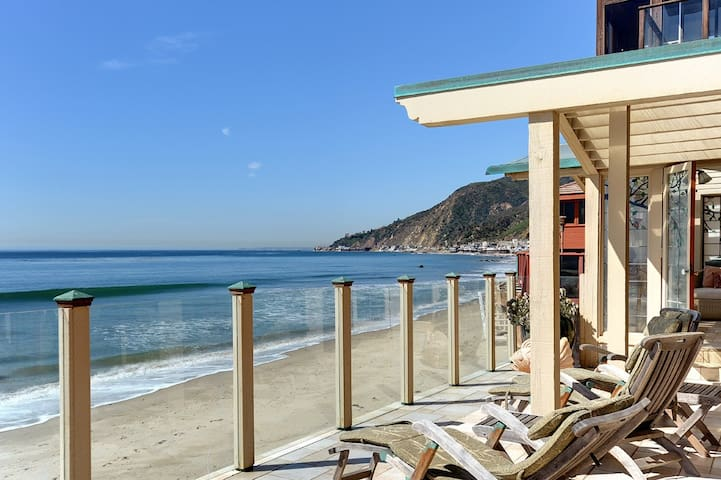 Summer on the Sand&Surf of our Malibu beachfront!