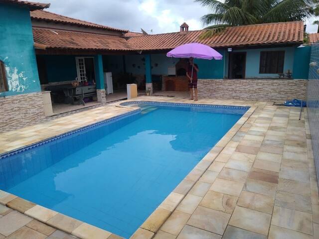 Linda Casa com Piscina em Iguaba Grande