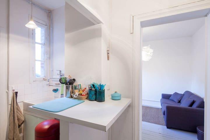 Appart 2pièces charmant et lumineux - Paris - Apartamento