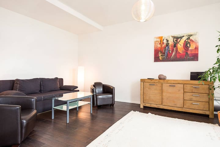 Tastefully furnished apartment with private furnished patio and bbq