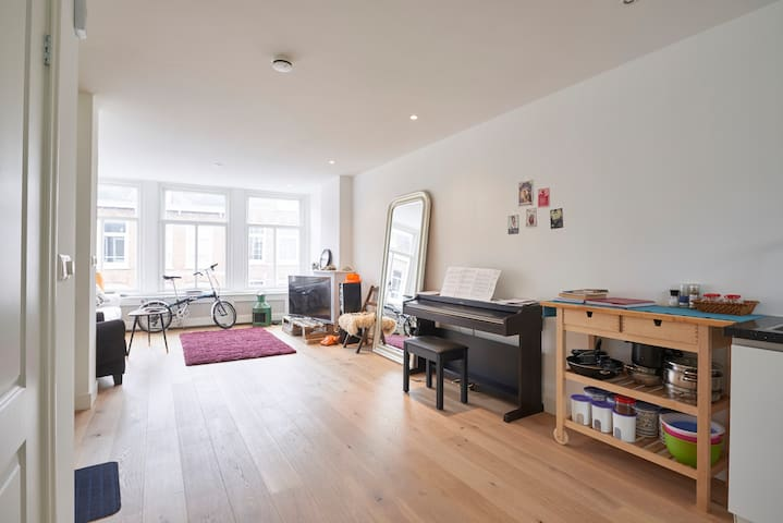 Guest room with terrace in central apartment - Amsterdam - Apartment