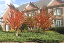 Red Brick Beautiful Home on a Cul De Sac  in Luxurious Hamilton Mills Subdivision.