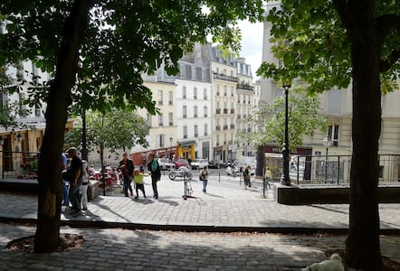 Charmant studio au coeur de Montmartre - Apartment