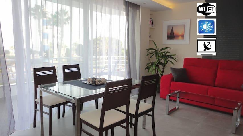 Apartamento en 1ª linea de playa - Torre del Mar - Apartment
