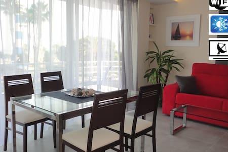 Apartamento en 1ª linea de playa - Torre del Mar