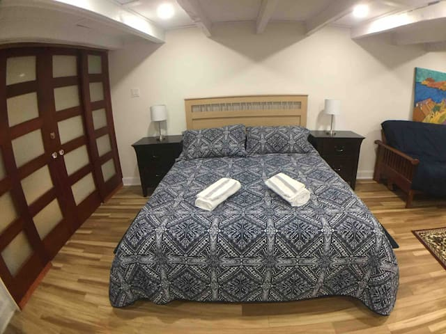 Entire floor loft room  with private entry