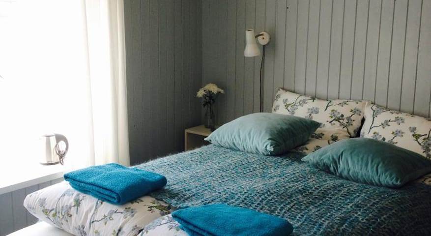 The Blue Room · Cozy double · B&B - Seyðisfjörður