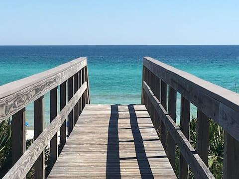 3Br Private Beach Accs, Ocean View, Corner Top Flr