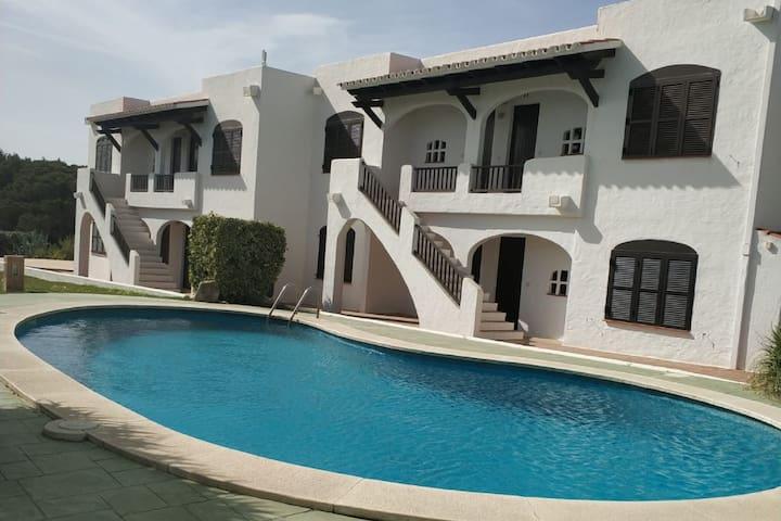 Gezellig appartement in Mercadal vlak bij het strand