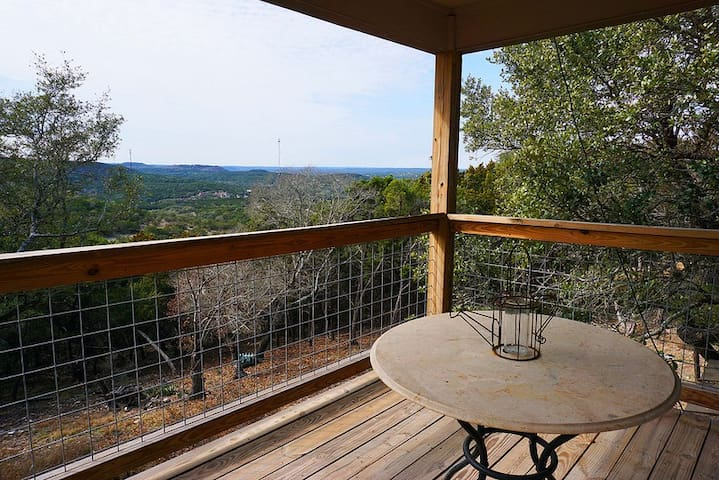 Minutes from the Wimberley Square but away from it all! Check out these views!
