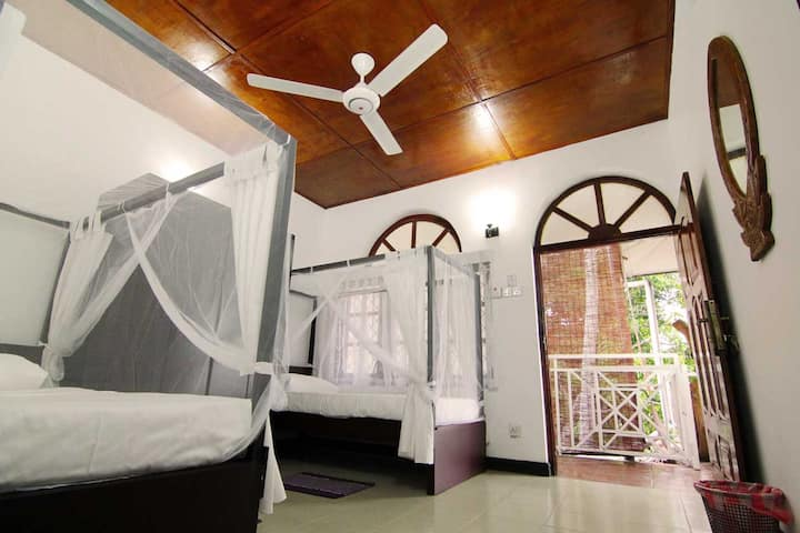Twin Room (2 Single Beds) & Mountain View Balcony