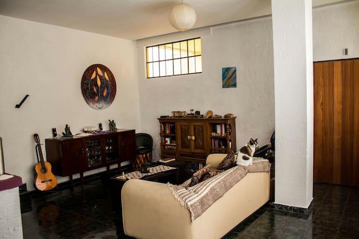 Habitación en departamento, Colonia Condesa.