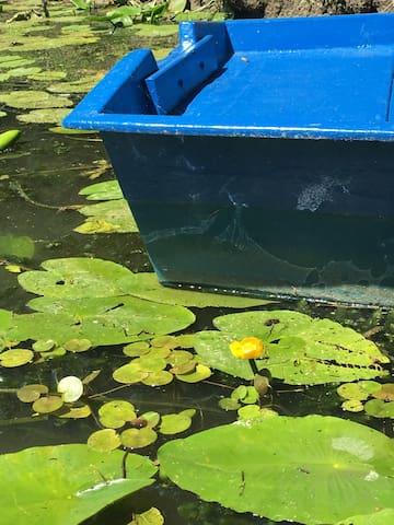 LONGÈRE POITEVINE au Bord de la Rivière Vendée - La Taillée
