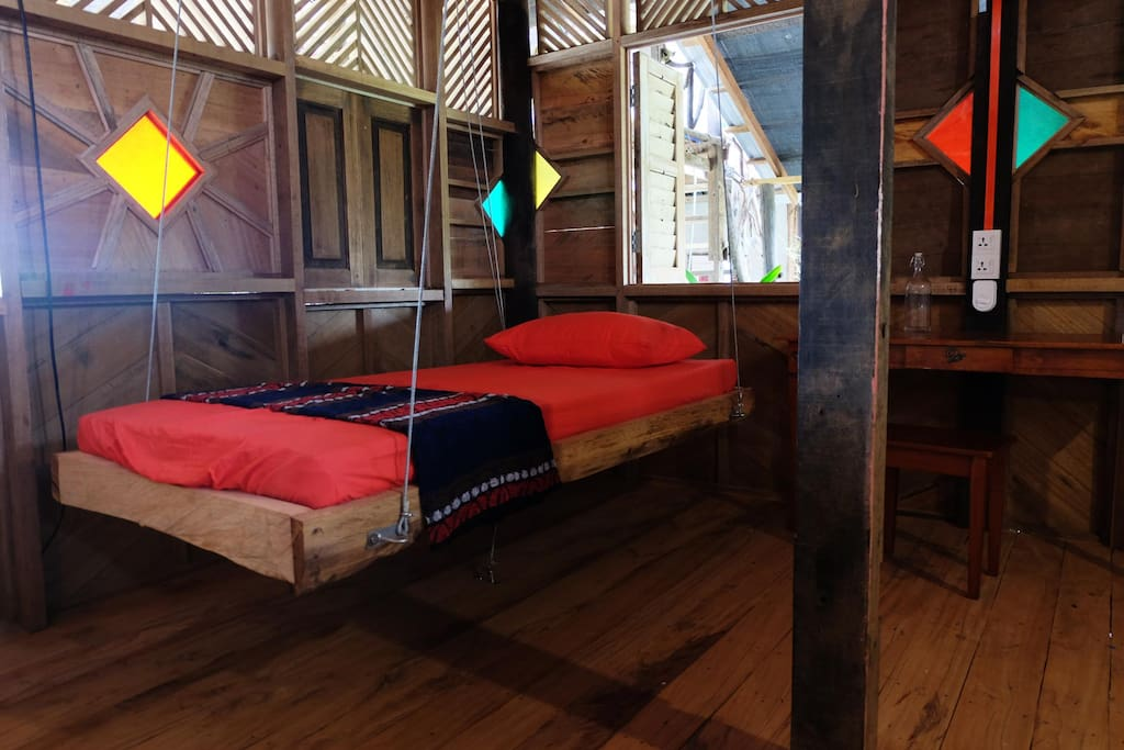 Flying beds in the first floor