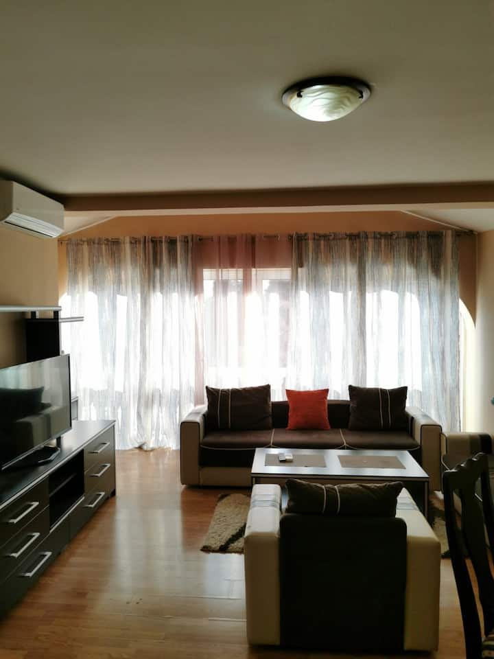 Well positioned apartment in Budva