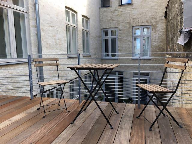 Möblierte Wohnung mit Sonnenterrasse