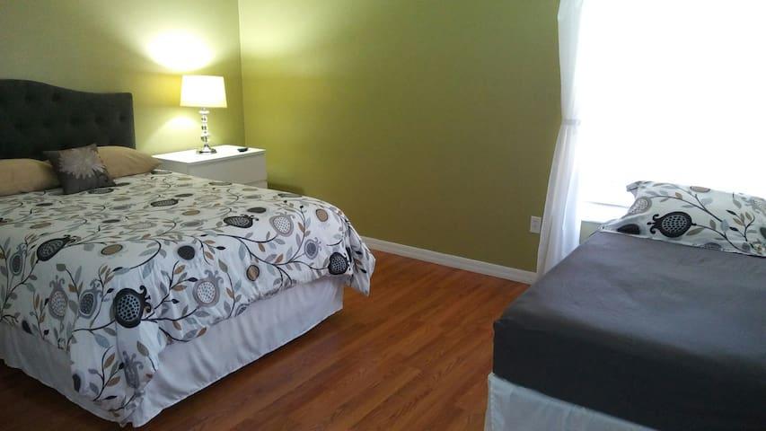 2min to Omni Hotel-private room,2 beds,near Disney